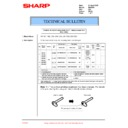 Sharp DM-2000 (serv.man26) Technical Bulletin