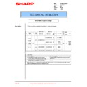 Sharp DM-2000 (serv.man29) Technical Bulletin