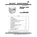Sharp DM-2000 (serv.man3) Service Manual