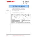 Sharp DM-2000 (serv.man30) Technical Bulletin