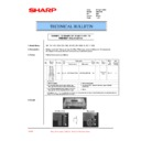 Sharp DM-2000 (serv.man32) Technical Bulletin