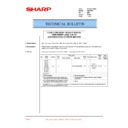 Sharp DM-2000 (serv.man33) Technical Bulletin