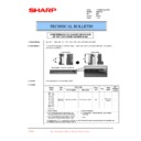 Sharp DM-2000 (serv.man36) Technical Bulletin