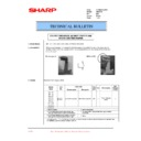 Sharp DM-2000 (serv.man37) Technical Bulletin