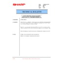 Sharp DM-2000 (serv.man39) Technical Bulletin