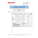 Sharp DM-2000 (serv.man40) Technical Bulletin