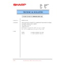 Sharp DM-2000 (serv.man49) Technical Bulletin