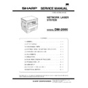 Sharp DM-2000 (serv.man6) Service Manual