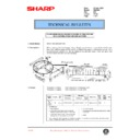 Sharp DM-2000 (serv.man65) Technical Bulletin
