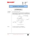 Sharp DM-2000 (serv.man67) Technical Bulletin