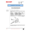 Sharp DM-2000 (serv.man69) Technical Bulletin