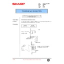 Sharp DM-2000 (serv.man75) Technical Bulletin