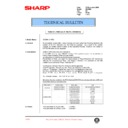 Sharp DM-2000 (serv.man77) Technical Bulletin