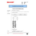 Sharp DM-2000 (serv.man80) Technical Bulletin