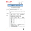 Sharp DM-2000 (serv.man87) Technical Bulletin