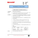 Sharp DM-2000 (serv.man88) Technical Bulletin