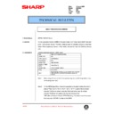 Sharp DM-2000 (serv.man89) Technical Bulletin