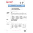 Sharp DM-2000 (serv.man90) Technical Bulletin