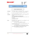 Sharp DM-2000 (serv.man92) Technical Bulletin