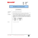Sharp DM-2000 (serv.man93) Technical Bulletin