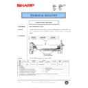 Sharp DM-2000 (serv.man99) Technical Bulletin