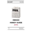 Sharp DM-2000 Handy Guide