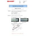 Sharp MX-2301N (serv.man10) Technical Bulletin