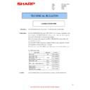 Sharp MX-2301N (serv.man25) Technical Bulletin