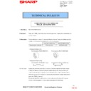 Sharp MX-2301N (serv.man32) Technical Bulletin