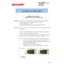 Sharp MX-2301N (serv.man35) Technical Bulletin