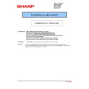 Sharp MX-2301N (serv.man37) Technical Bulletin