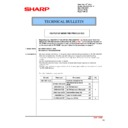 Sharp MX-2301N (serv.man38) Technical Bulletin