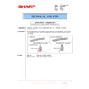 Sharp MX-2301N (serv.man39) Technical Bulletin
