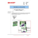Sharp MX-2301N (serv.man41) Technical Bulletin