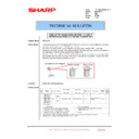 Sharp MX-2301N (serv.man43) Technical Bulletin