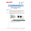 Sharp MX-2301N (serv.man45) Technical Bulletin