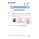Sharp MX-2301N (serv.man49) Technical Bulletin