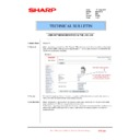 Sharp MX-2301N (serv.man52) Technical Bulletin