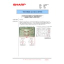 Sharp MX-2301N (serv.man55) Technical Bulletin
