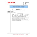 Sharp MX-2301N (serv.man57) Technical Bulletin