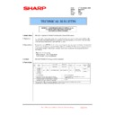 Sharp MX-2301N (serv.man60) Technical Bulletin