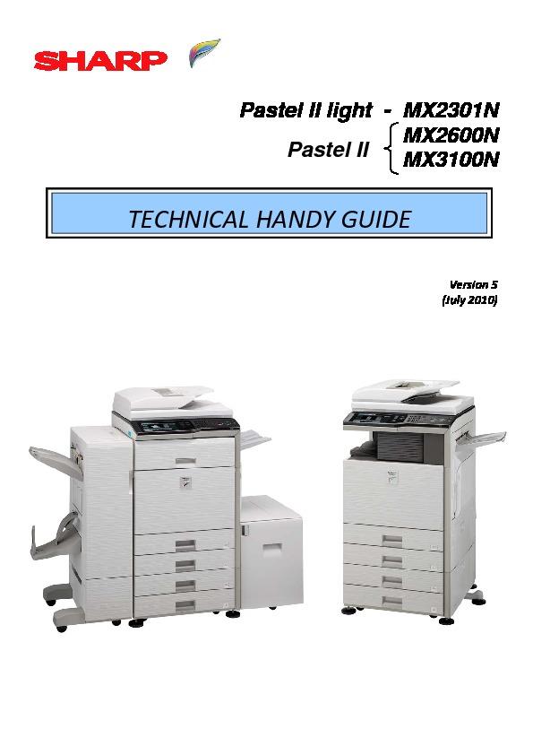 sharp printer manual various owner manual guide u2022 rh justk co Sharp MX 4501N sharp mx-5001n user guide