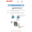 Sharp MX-2614N, MX-3114N (serv.man100) Technical Bulletin