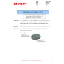 Sharp MX-2614N, MX-3114N (serv.man104) Technical Bulletin