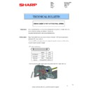 Sharp MX-2614N, MX-3114N (serv.man106) Technical Bulletin