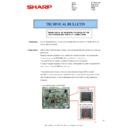 Sharp MX-2614N, MX-3114N (serv.man107) Technical Bulletin