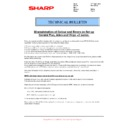 Sharp MX-2614N, MX-3114N (serv.man111) Technical Bulletin