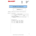 Sharp MX-2614N, MX-3114N (serv.man115) Technical Bulletin