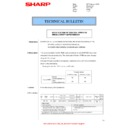 Sharp MX-2614N, MX-3114N (serv.man119) Technical Bulletin