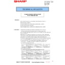 Sharp MX-2614N, MX-3114N (serv.man147) Technical Bulletin